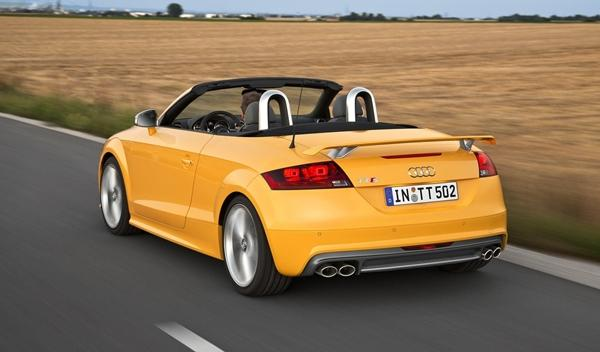 Audi TTS competition roadster trasera