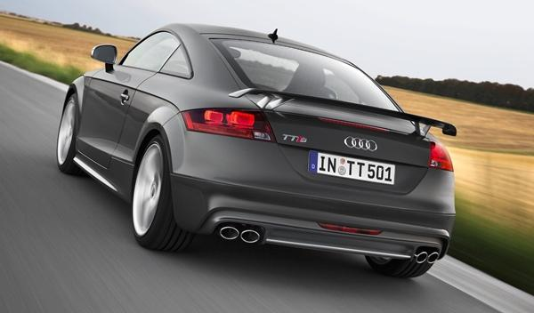 Audi TTS competition coupe trasera