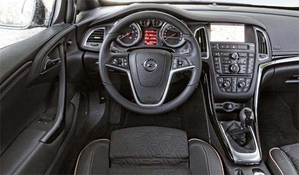 Opel Cabrio salpicadero