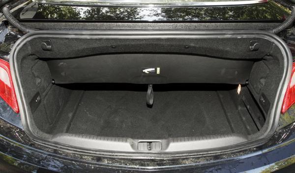 Opel Cabrio maletero