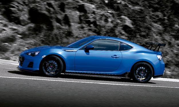 Subaru BRZ tS lateral