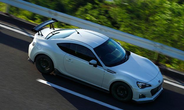 Subaru BRZ tS techo