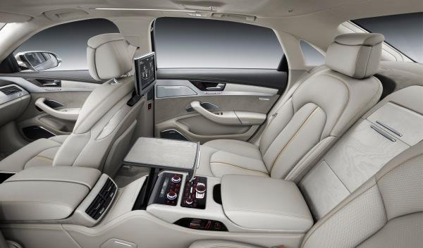Audi A8 2013 interior 2