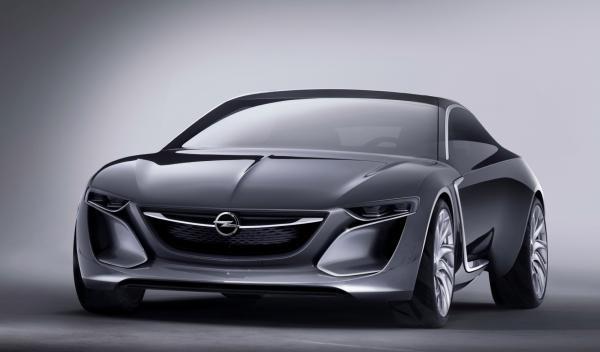 Imagen frontal Opel Monza  2014