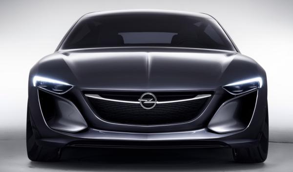 Frontal Opel Monza 2014