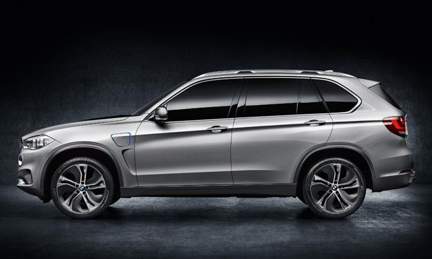 BMW X5 Concept5 eDrive lateral