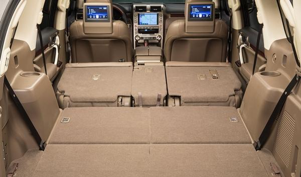 Lexus GX 460 2014 maletero