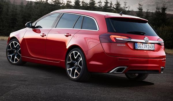 Opel Insignia OPC 2014 trasera