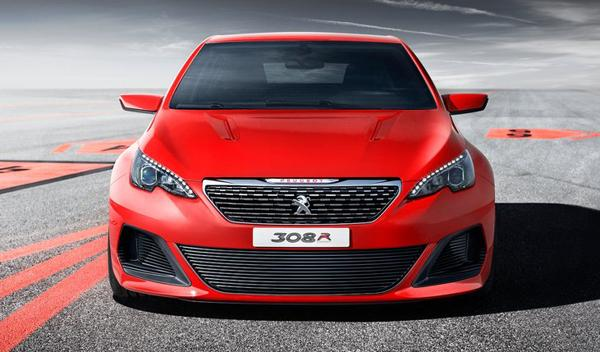 Peugeot 308 R Concept Frontal