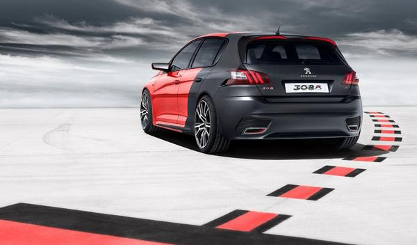 Peugeot 308 R Concept trasera