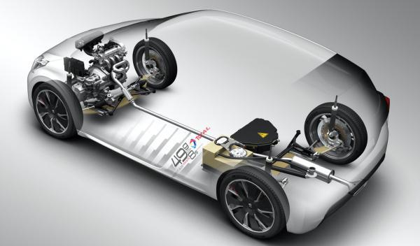 Peugeot 208 Hybrid FE motores
