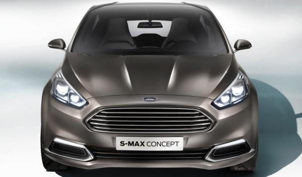 Ford S-MAX Concept frontal