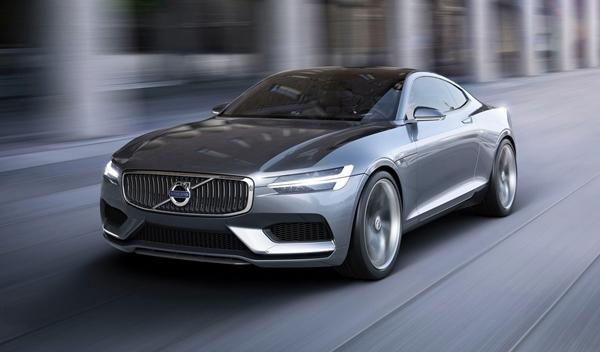Volvo Coupe Concept frontal 1