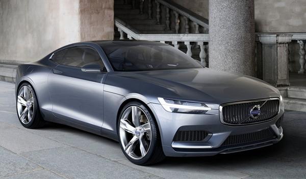 Volvo Coupe Concept delantera