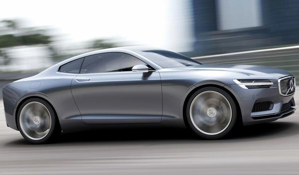 Volvo Coupe Concept perfil
