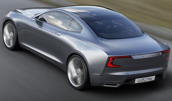 Volvo Coupe Concept trasera 1