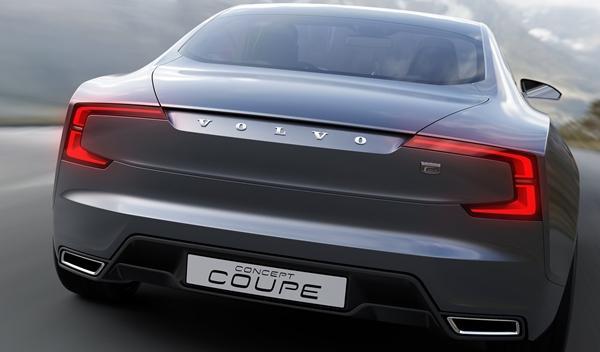 Volvo Coupe Concept maletero