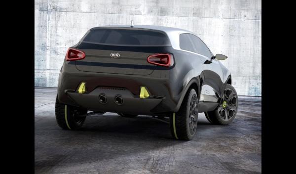Kia Niro Concept trasera