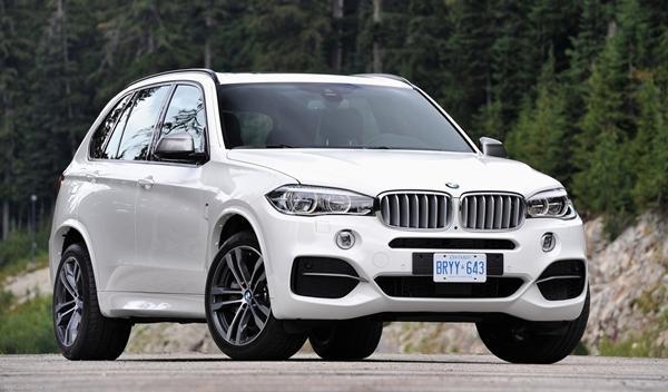 BMW X5 M50d 2014 delantera