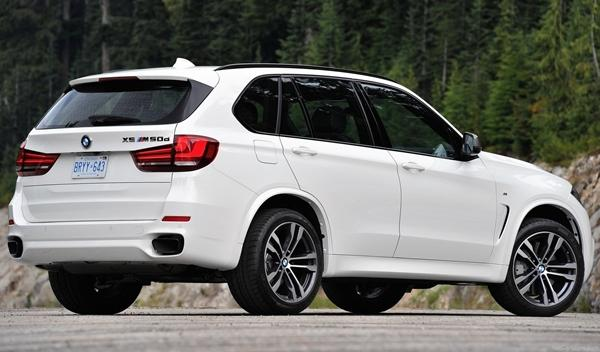 BMW X5 M50d 2014 posterior