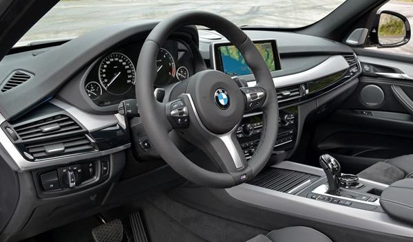 BMW X5 M50d 2014 interior