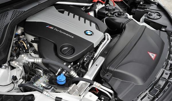 BMW X5 M50d 2014 motor