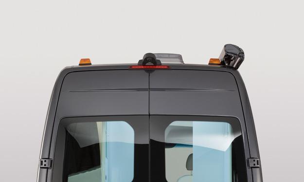 Mercedes Sprinter Caravan Concept techo