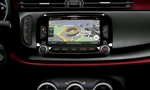 Alfa Romeo Giulietta 2014 navegador