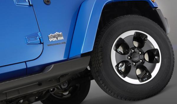 Jeep Wrangler Polar rueda