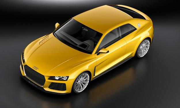 Audi Sport quattro concept delantera