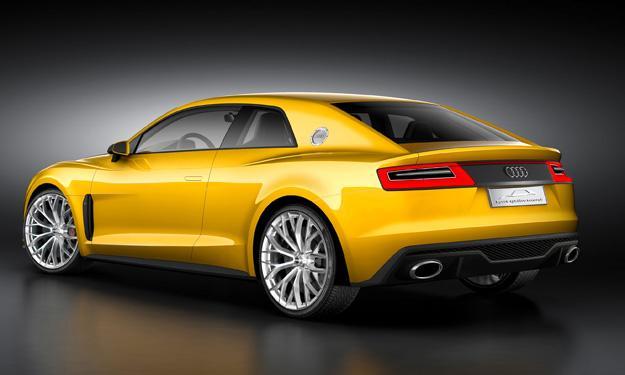 Audi Sport quattro concept trasera