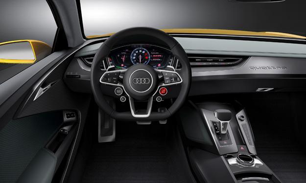 Audi Sport quattro concept interior