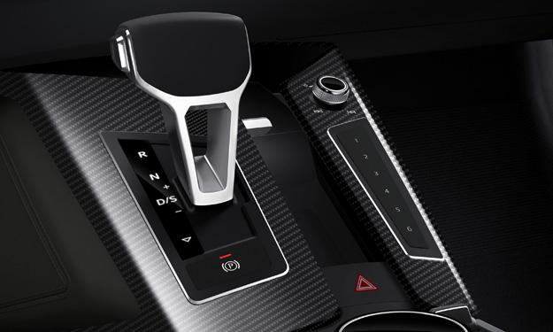 Audi Sport quattro concept cambio