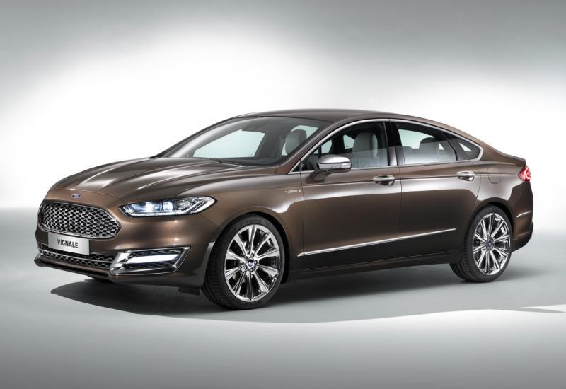 Ford Mondeo Vignale Concept Delantera