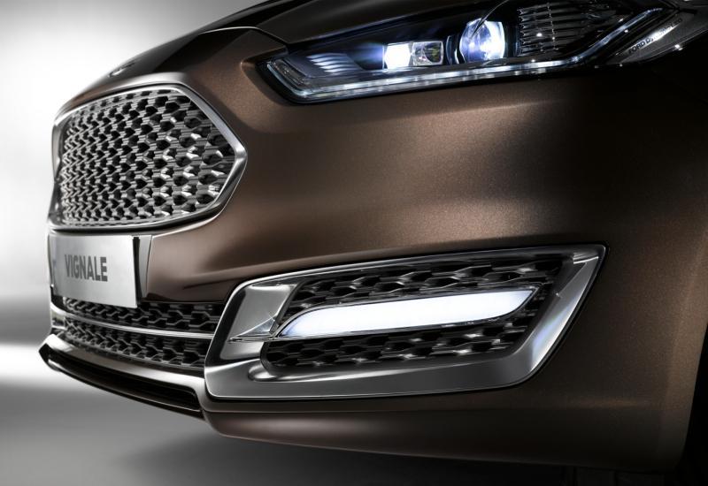 Ford Mondeo Vignale Concept Detalle Faro
