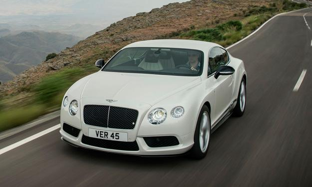 Bentley Continental GT V8 S Coupé delantera