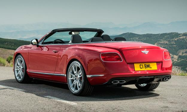 Bentley Continental GT V8 S Convertible trasea