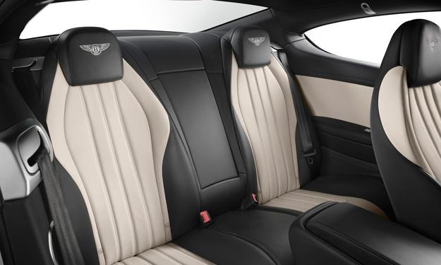 Bentley Continental GT V8 S Coupe asientos
