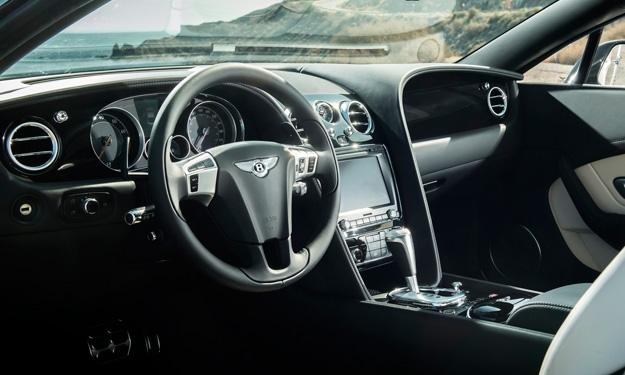 Bentley Continental GT V8 S Coupe Convertible interior