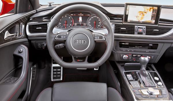 Audi RS6 Avant salpicadero