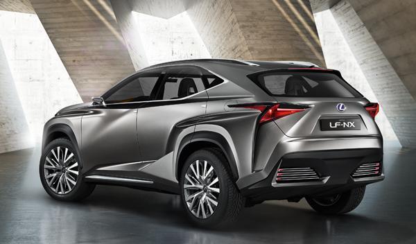 Lexus LF-NX trasera