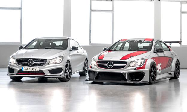 Mercedes CLA 45 AMG Racing Series frontal