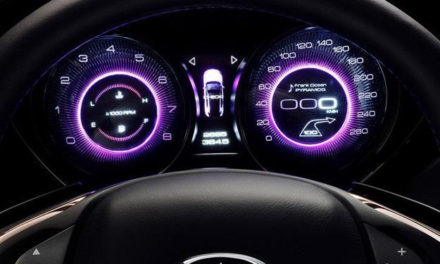 Infiniti Q30 Concept relojes