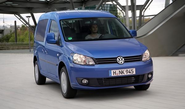 Volkswagen Caddy Bluemotion 2014 Frankfurt