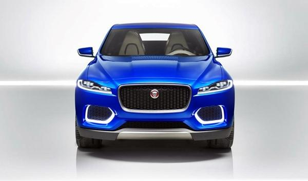 Jaguar C-X17 frontal