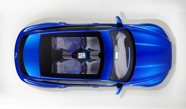 Jaguar C-X17 techo