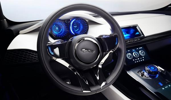 Jaguar C-X17 interior 2
