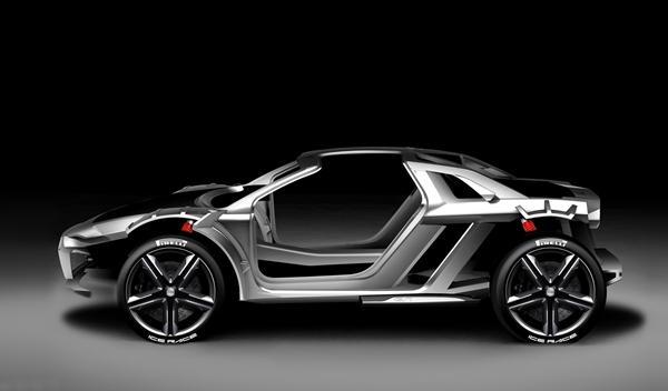 Audi Nanuk Quattro Concept plataforma