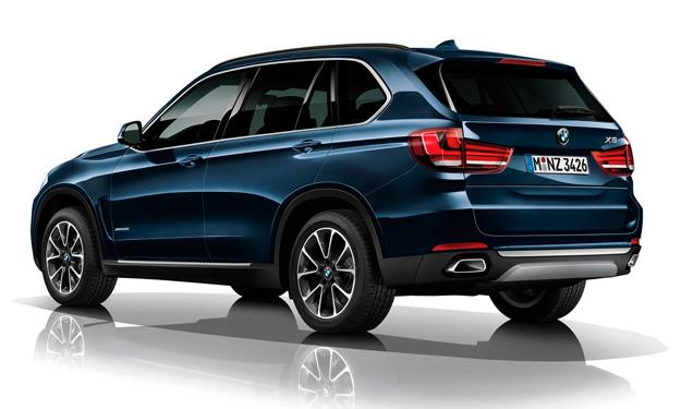 BMW X5 Security Plus Concept trasera