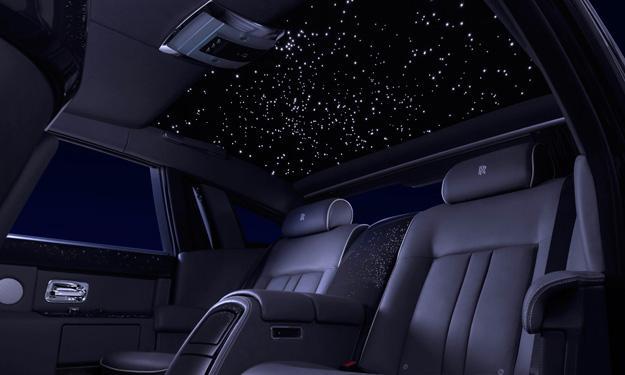 Rolls-Royce Phantom Celestial interior